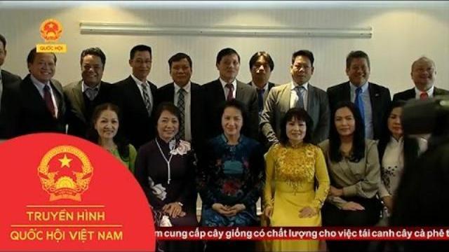 Thời sự - Chủ Tịch Quốc Hội Gặp Liên Hiệp Các Hội Người Việt Tại Châu Âu