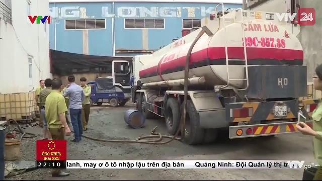 Hải Phòng: Nhiều đấu hiệu sai phạm tại cơ sở thu mua xăng dầu   VTV24