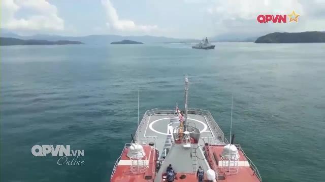 Thời sự Quốc phòng Việt Nam ngày 20/3/2017: Tàu chiến Hải quân Việt Nam diễn tập quốc tế LIMA