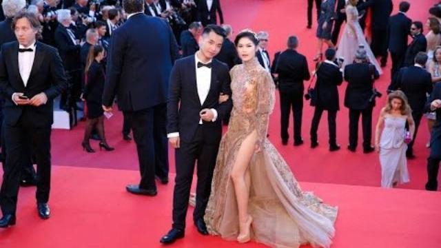 Mỹ nhân Việt suýt lộ vòng 3 trên thảm đỏ Cannes 2017