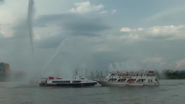 Tin Thời Sự Hôm Nay (18h30 - 21/5/2017): Diễn Tập Ứng Phó Sự Cố Cháy Nổ Trên Sông Sài Gòn