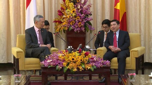 Tin Tức 24h: Thủ tướng Singapore Lý Hiển Long thăm TP. Hồ Chí Minh