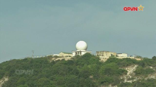 Thăm Trạm Radar 67, Trung đoàn 292 tại Cam Ranh, tỉnh Khánh Hoà