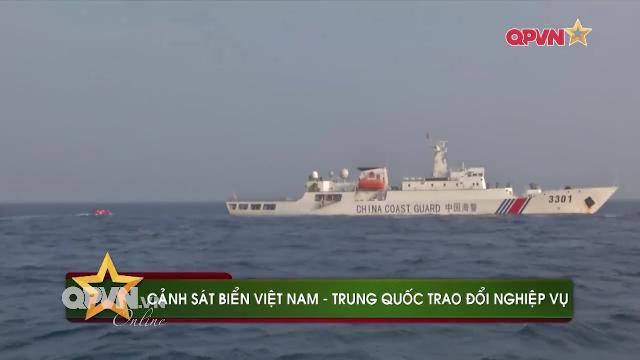 Cảnh sát biển Việt Nam Trung quốc tuần tra chung trên Vịnh Bắc Bộ