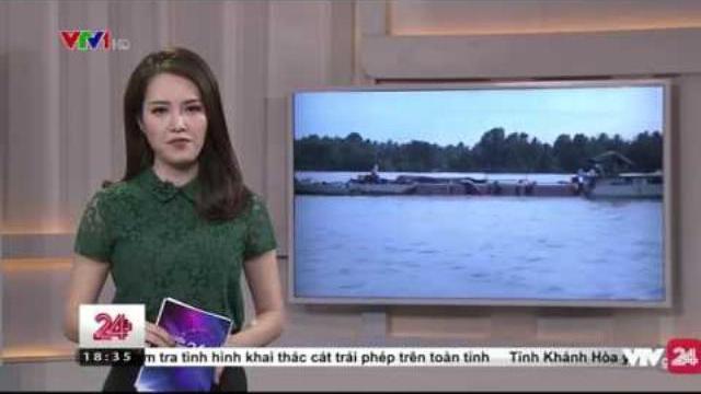 UBND Tỉnh Ra Chỉ Đạo Thanh Kiểm Tra Các Đơn Vị Khai Thác Cát Trái Phép - Tin Tức VTV24