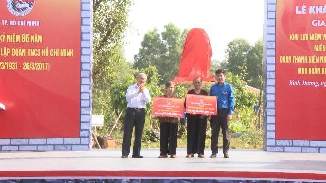 TP. HCM: Khánh thành giai đoạn 1 công trình lưu niệm Vùng căn cứ kháng chiến miền Đông Nam Bộ