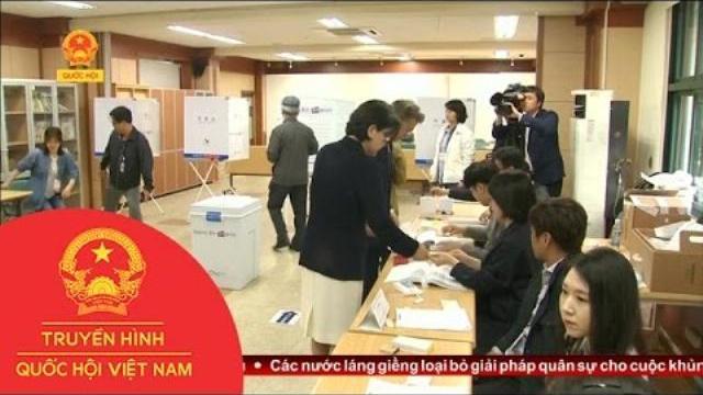 Thời sự - Cử Tri Hàn Quốc Bỏ Phiếu Bầu Tổng Thống