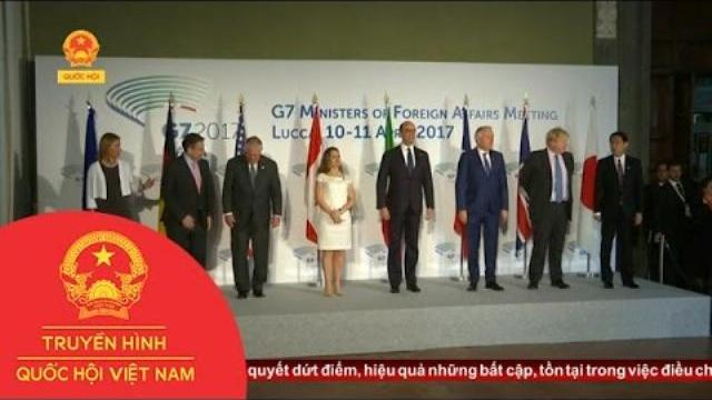 Thời sự - G7 Sẵn Sàng Hợp Tác Với Nga Trong Các Vấn Đề Khủng Hoảng Quốc Tế