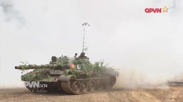 Binh chủng Tăng thiết giáp tham mưu tác chiến