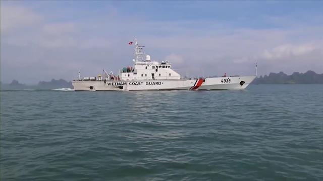 Những con tàu hiện đại của Cảnh sát biển Việt Nam đồng hành cùng ngư dân trên Biển