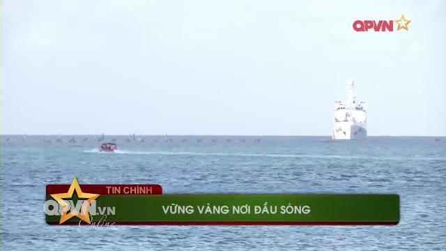 Thời sự Quốc phòng Việt Nam ngày 17/4/2017: Tàu Hải quân Việt Nam trực chiến ở Trường Sa