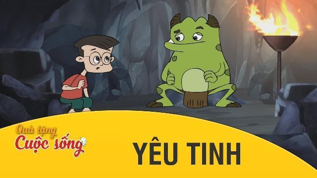 Quà tặng cuộc sống - YÊU TINH - Phim hoạt hình hay nhất 2017 - Phim hoạt hình Việt Nam