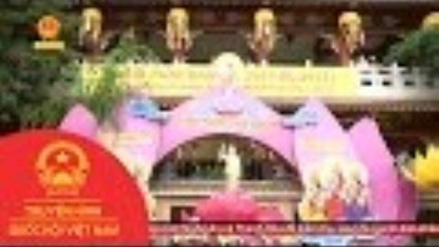 Thời sự - Nhiều chùa ở Hà Nội và các địa phương trên cả nước cũng tổ chức Đại lễ Phật đản