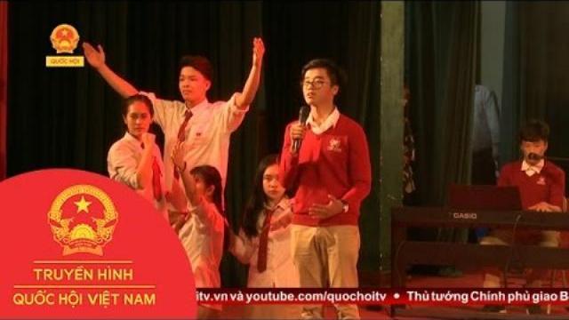 Thời sự - Cuộc Thi Hùng Biện Tiếng Anh Trong Học Sinh, Sinh Viên Thủ Đô Năm 2017