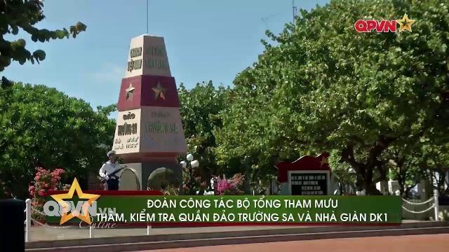 Phó Tham mưu trưởng Quân đội Việt Nam thăm Trường Sa