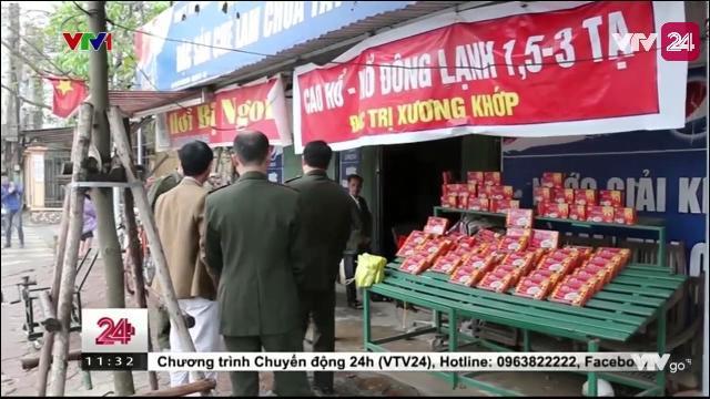 Tin Tức VTV24 - Ngày 04/04/2017: Kiểm Tra Cơ Sở Công Khai Rao Bán Hổ