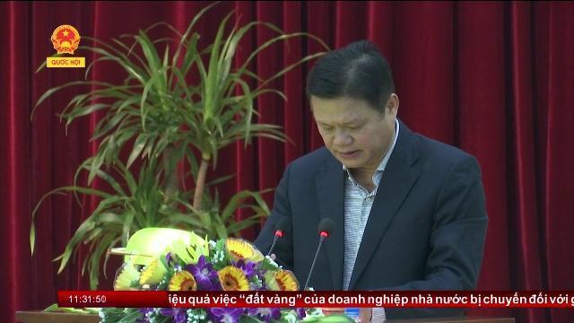 Tham gia ý kiến dự thảo đề cương đề án trình Hội nghị Trung ương 6