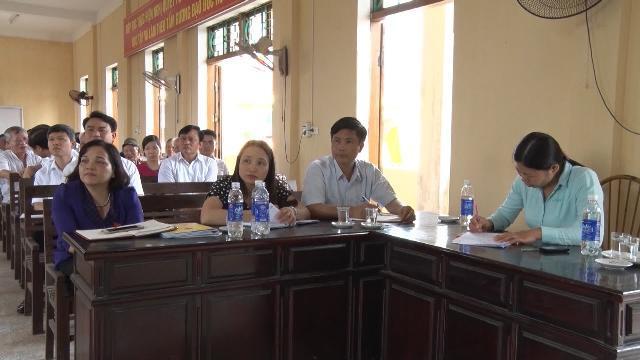 Đoàn đại biểu Quốc hội tỉnh Hà Nam khóa XIV tiếp xúc cử tri