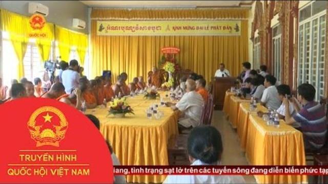 Thời sự - Phó Thủ Tướng Trương Hòa Bình Chúc Mừng Lễ Phật Đản Tại Thành Phố Cần Thơ