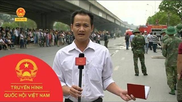 Thời sự - Cháy lớn tại một kho hàng trên đường Phạm Hùng, Hà Nội