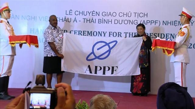 Lễ chuyển giao Chủ tịch Diễn đàn Nghị viện châu Á - Thái Bình Dương