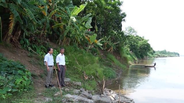 Phú Thọ cần sớm khắc phục tình trạng sạt lở bờ sông Hồng