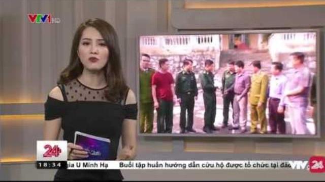 Tin Tức VTV24 - Ngày 05/04/2017: Bộ Đội Biên Phòng Giải Cứu Em Bé Từ Tay Kẻ Buôn Người