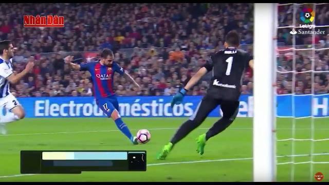 Tin Thể Thao 24h Hôm Nay (19h45 - 16/4): Vòng 32 La Liga 2017 - Real và Barca Cùng Thắng Kịch Tính