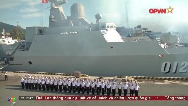 Tàu chiến Hải quân Việt Nam tham dự triển lãm quốc tế LIMA