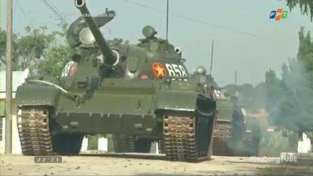Lực lượng Tăng thiết giáp Quân đoàn 3 huấn luyện sẵn sàng chiến đấu