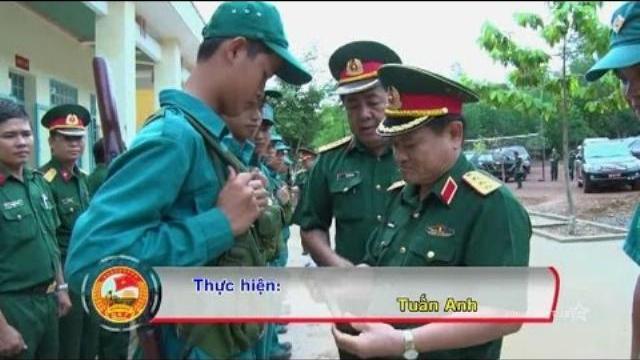 Bộ quốc phòng kiểm tra SSCĐ tại Quân khu 7