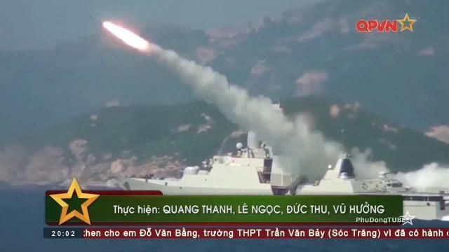 Thời sự Quốc phòng Việt Nam ngày 26/2/2018: Tàu chiến Hải quân Việt Nam luyện bắn trên biển
