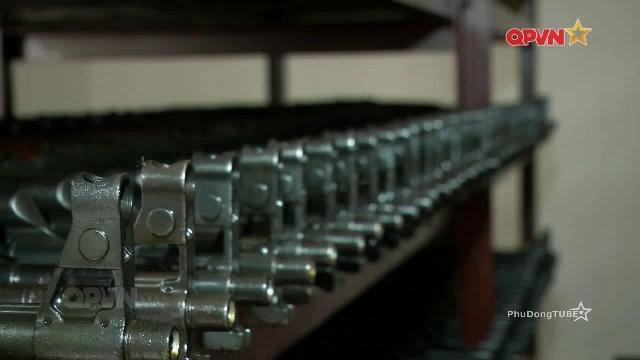 Bảo đảm vũ khí sẵn sàng chiến đấu tại kho 29