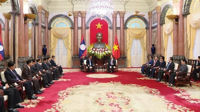 Tin Thời Sự Hôm Nay (18h30 - 16/3/2017): Chủ Tịch Nước Tiếp Bộ Trưởng Bộ An Ninh CHDCND Lào