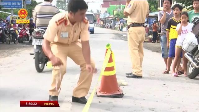 Đồng Tháp: Tai nạn giao thông làm 02 người bị thương nặng