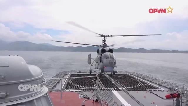 Thời sự Quốc phòng Việt Nam ngày 8/5/2017: Tàu chiến Hải quân Việt Nam duyệt binh tại Singapore