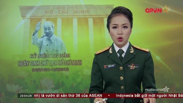 Thời sự Quốc phòng Việt Nam ngày 19/5/2017: Kỷ niệm 127 năm ngày sinh Bác Hồ