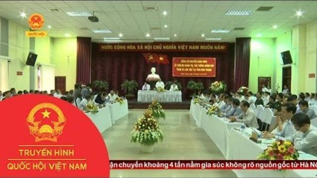 Thời sự - Thủ tướng làm việc với lãnh đạo tỉnh Bình Thuận