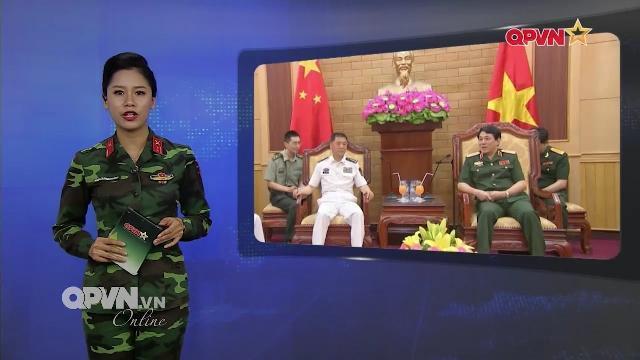 Tin quân sự Việt Nam nổi bật tuần qua: Chính ủy Hải quân Trung quốc thăm Việt Nam
