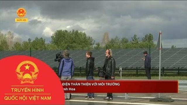 Thời sự - Đức: Xe tải điện thân thiện với môi trường