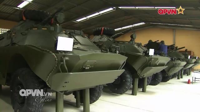 Kho 789 niêm cất Tăng thiết giáp sẵn sàng chiến đấu