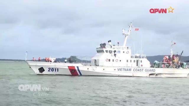 Thời sự Quốc phòng Việt Nam ngày 16/3/2017: Cảnh sát biển Việt Nam phá án trên biển