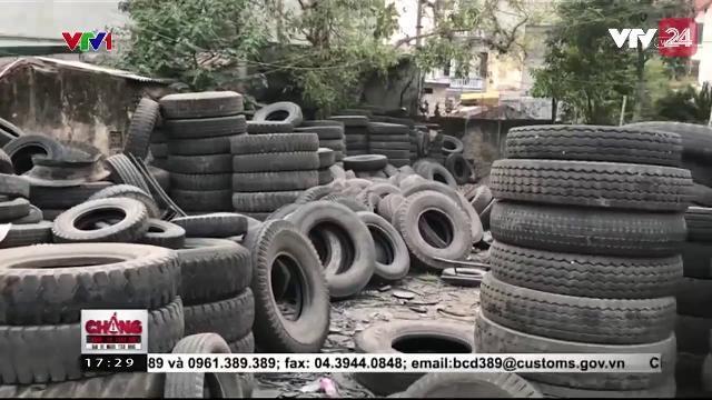 Hiểm Họa Khôn Lường Từ Tình Trạng Tân Trang Lốp Ô Tô Cũ - Tin Tức VTV24