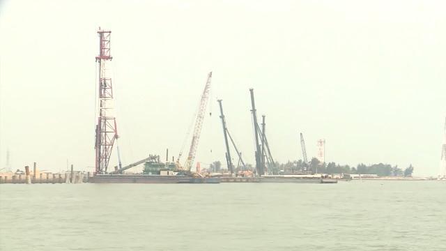 Dự án tỷ USD cảng Lạch Huyện, Hải Phòng nguy cơ vỡ tiến độ