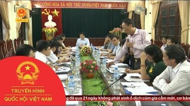 Thời sự - Hội đồng Dân tộc của Quốc hội giám sát tại tỉnh Bắc Giang
