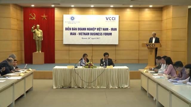 Tin Tức 24h Mới Nhất: Diễn đàn doanh nghiệp Việt Nam - Iran