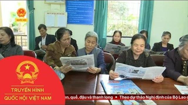 Thời sự - Thư viện thôn Bình Vọng: Nơi văn hóa đọc làng quê được khơi nguồn