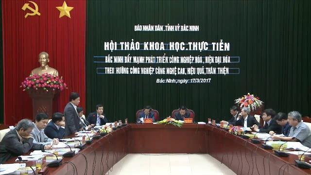 Bắc Ninh đẩy mạnh phát triển công nghiệp công nghệ cao theo hướng hiệu quả, thân thiện