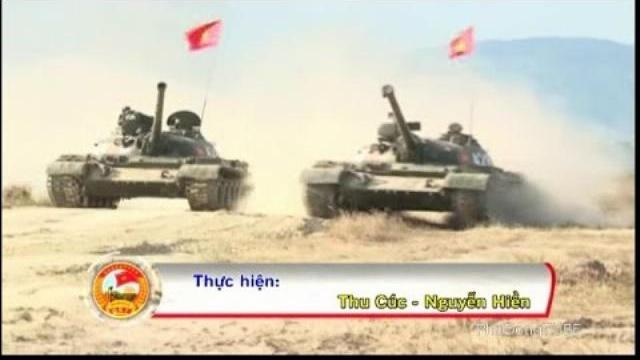 Kíp xe chiến đấu ở Lữ đoàn Tăng thiết giáp 26 QK7