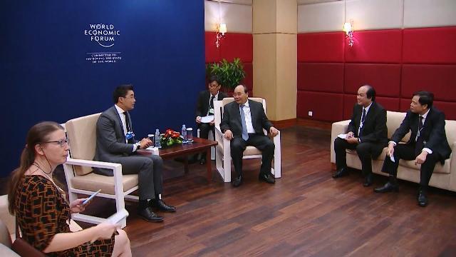 Tin Tức 24h: Thủ tướng tiếp lãnh đạo WEF, AIIB và Tập đoàn CISCO